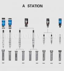 Chày Cối Đột Mâm Dày - Trạm A